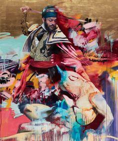Les créations street art et les peintures de l'artiste irlandais Conor Harrington, basé à Londres. Avec un univers très fort et très baroque, à la fois m
