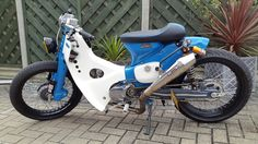 honda c90 custom cub build street cub