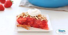 Healthy Strawberry Pretzel Pie Recipe