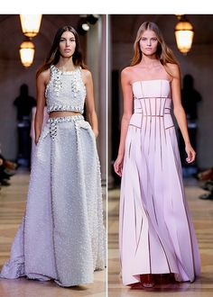 New York Fashion Week! The Carolina Herrera Spring 2016 runway show was gorgeous and the new collection is so feminine and girly, we cannot wait to see the celebs rock it on the runway — especially, Taylor Swift and Julianne Hough.