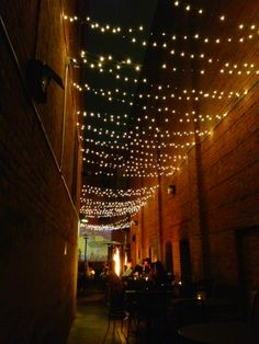 String Lights Garage : 1000+ images about Tableau Courtyard Lighting on Pinterest Garden fountains, String lights and ...