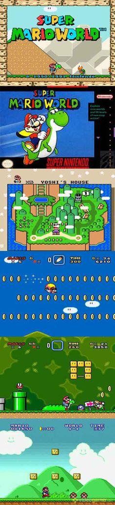#RetroGamer Celebrate #MAR10Day with Super #MarioWorld #SNES http://www.levelgamingground.com/super-mario-world-review.html