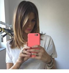 50 ideas haircut inspiration 2019 lob for 2019 Hairstyles Haircuts, Pretty Hairstyles, Medium Hair Styles, Short Hair Styles, Ombre Hair Color, Great Hair, Hair Day, Balayage Hair, Hair Looks