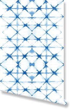 Shibori Wallpaper by Clairebella