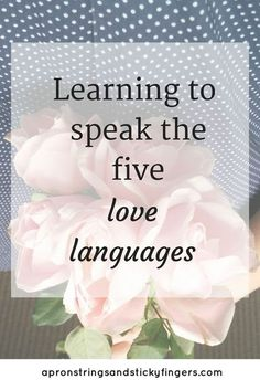 Love looks different to everyone. If we don't communicate love in a way that others understand it creates all kinds of problems in our relationships. That's why the five love languages are so important. Learn to speak the love languages and you can then l