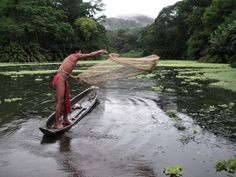 A fisherman after his morning catch, Panama. Click to see more Rainforest Alliance Photo Contest winners... (Photo by Chip Isenhart)