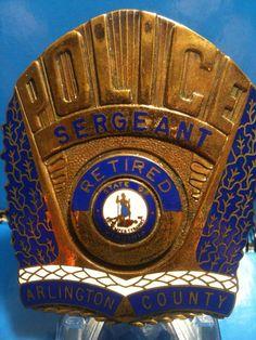Sergeant Retired, Arlington, Va.