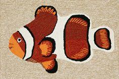 Frontporch Clown Fish Orange