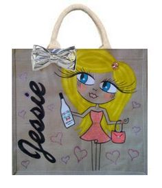 Personalised Jute Bag £25.00