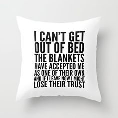 Creative Ways Funny Throw Pillows with Inspiration Designs - Funny memes - Cool Decorative Pillows Funny Throw Pillows, Cute Pillows, Diy Pillows, Toss Pillows, Pillows On Bed, Applique Pillows, Bed Linens, Cricut, Funny Relatable Memes