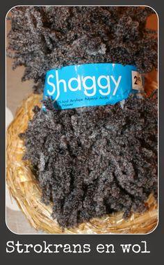 Dinah Creatief: Shaggy krans!