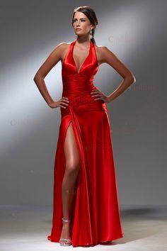 vestidos rojos de noche - Buscar con Google