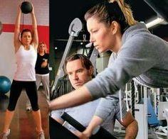 jessica biel gym workout Jessica Biel Workout & Diet: Get Her Secrets To Staying Thin Jessica Biel, Fit Girl Motivation, Fitness Motivation, Fitness Diet, Health Fitness, Fitness Fun, Pop Workouts, Fitness Workouts, Celebrity Workout
