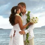 Beach wedding on Maui with A perfect paradise wedding.    For travel packages to your destination wedding contat the Hawaii Destination Specialists at Travel to Maui. http://www.traveltomaui.net