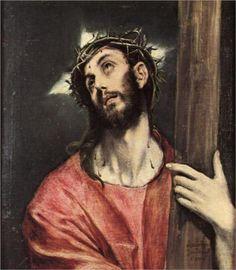 Cristo cargando la Cruz.
