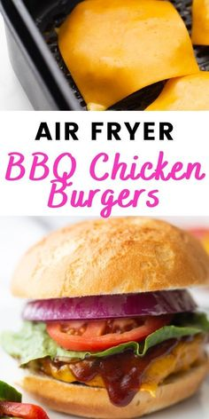 Summer is here and that calls for the best BBQ Chicken Burgers with Homemade BBQ Sauce. Perfectly seasoned and dripping in deliciously sweet and tangy homemade BBQ sauce, these BBQ Chicken Burgers are perfect for your next backyard get together. And they can even be made in your Air Fryer! 21 Day Fix Breakfast, Clean Eating Breakfast, Fixate Recipes, Healthy Recipes, Healthy Meals, Ground Chicken Burgers, Best Bbq Chicken, 21 Day Fix Meal Plan, Chicken Patties
