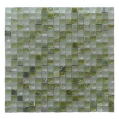 "1""x1""x8mm Quartz Collection - CALCE green"