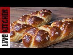 Greek Sweets, Greek Desserts, Greek Recipes, How To Make Bread, Food To Make, Food Network Recipes, Cooking Recipes, The Kitchen Food Network, Bread Cake
