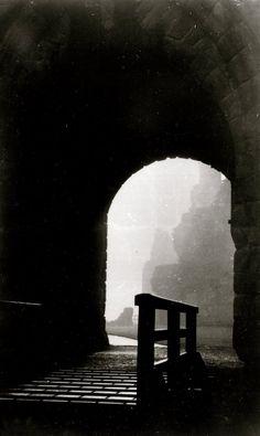 Entrance to Middleham Castle