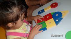 Minha neta e aluna com síndrome de down e as formas