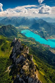 Les Dents de Lanfon, lac d'Annecy, Haute Savoie, France