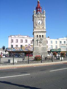 Margate Clock Towe built in 1887 to celebrate Queen Victoria's Golden Jubilee.