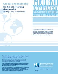 Global engagement: Teaching and learning about conflict (English) (Download)