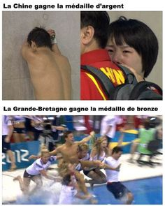 Chine vs Grande-Bretagne