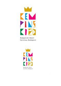 Kempinski anniversary logos by Adel Kovacs, via Behance