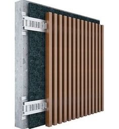 The Vertical Slats Features Fluted Panel Solution