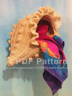 """Spiral shell"" Crochet Basket | Craftsy"