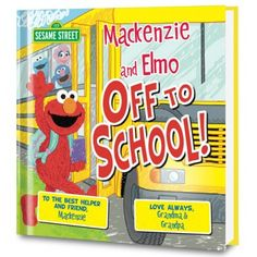 Sesame Street: Off to School! Grab your backpack and lunch box! It is time to get ready for the fir