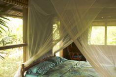 jungle slaapkamer, surinamevakantiehuisje.nl