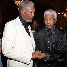 Icons   Morgan & Mandela