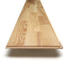 City Engineered European Ash 3 Strip Lacquered Flooring