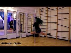 Here are a few double spins for you to play with from an Attitude Ankle Hook :) All are on static pole xxxx Pole Dance Moves, Pole Dancing Fitness, Pole Fitness, Barre Fitness, Fitness Exercises, Fitness Life, Aerial Hoop, Dancing In The Dark