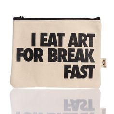 Art for breakfast pouch from fab.com