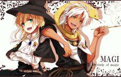 Magi, the Kingdom of Magic ~ Titus & Sphintus :D ♥