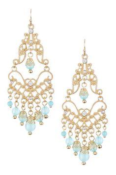 Filigree Gypsy Earrings by All About Earrings on @HauteLook