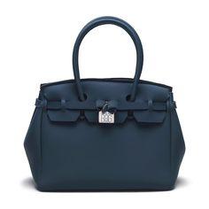 Save My Bag Icon Lycra Damenhandtasche balena (dunkelblau)
