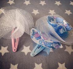 La barrette bibi! Tuto! Diy Accessoires, Barrettes, Hair Pins, Sewing, Bags, Camille, Collage, Inspiration, Instagram