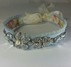 Rustic and Regal Headbands in a variety of colors from Tessharrissdesigns.com