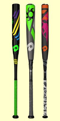 DeMarini custom softball bats and baseball bats are available on JustBats with free shipping every day!