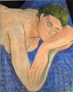 The Dream, 1935  Henri Matisse