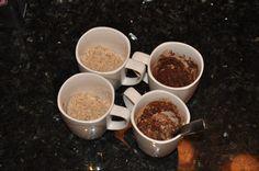 microwave paleo brownie