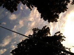 Por do Sol no Bar do Zinho com nuvens pinceladas