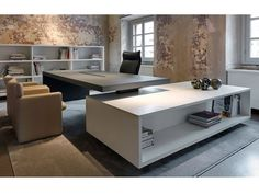 Despacho de Piero Lissoni :: Muebles Diseño valladolid, reformas integrales, Tragaluz mobiliario, proyectos de interior, decoración, interiorismo,