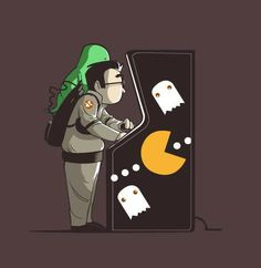 Ghostbusters and PacMan Mashup