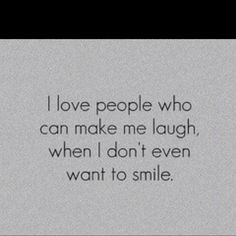 And those people are the ones I love and appreciate the most!