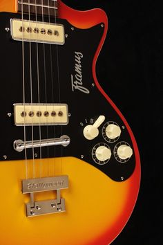 My dad's guitar. FRAMUS.